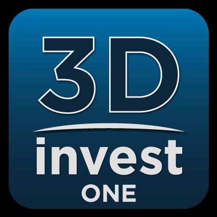 logo de l'application 3DInvest One
