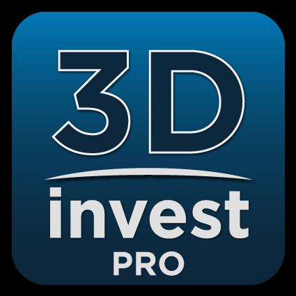 logo de l'application 3DInvest PRO