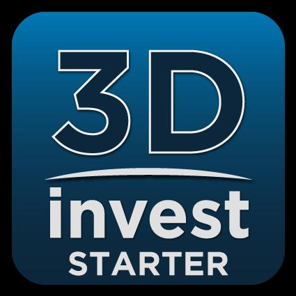 logo de l'application 3DInvest Starter