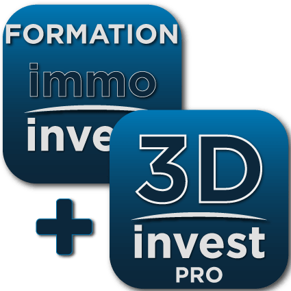 pack formation immobilier + 3DInvest PRO